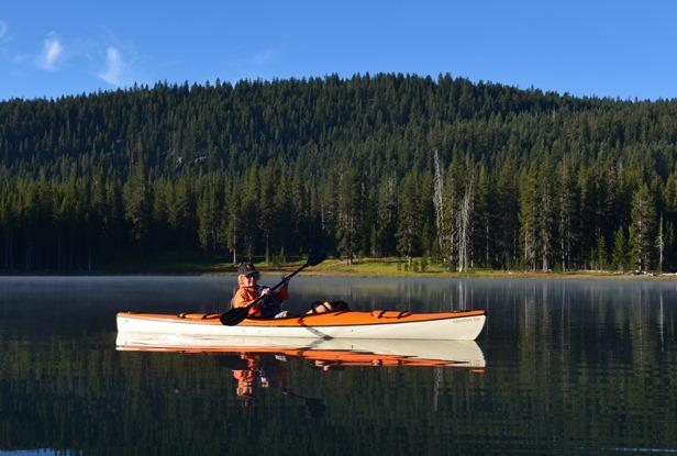 Mo on Medicine Lake