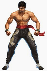 Tekken character Law based on Bruce Lee