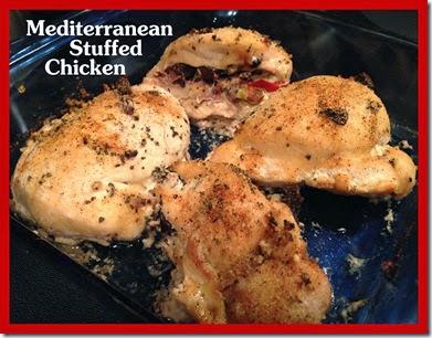 7 - Mediterranean Sutffed Chicken Title