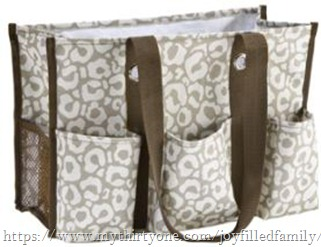 organizing utility tote