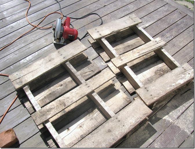 pallet bench 2