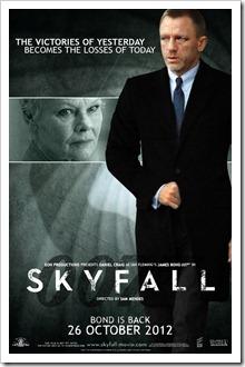 13 Skyfall Movie Poster