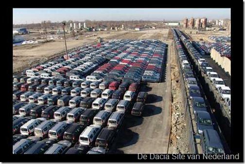 Dacias wachten op transport 02