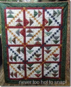 Kerrie's quilt finished
