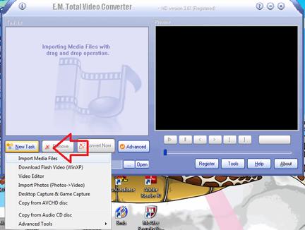 ดาวน์โหลดโปรแกรม Total video converter