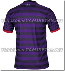 nueva camiseta del arsenal 2012-13