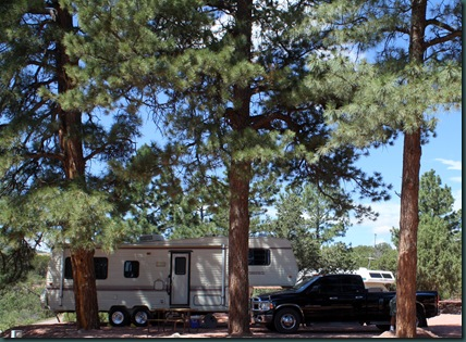 To Colorado, RV park and tow truck 041