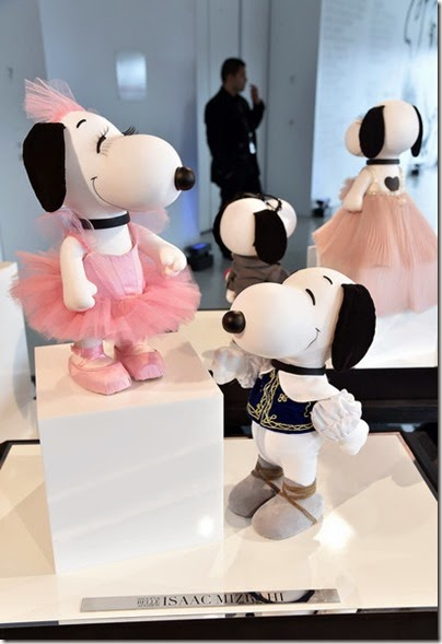 Peanuts X Metlife - Snoopy and Belle in Fashion Exhibition Presentation (Source - Slaven Vlasic - Getty Images North America) 29