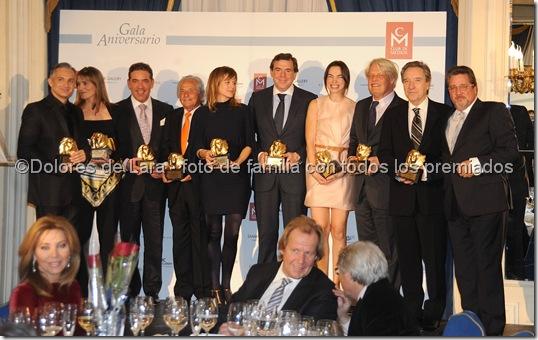 ©Dolores de Lara - foto de familia con todos los premiados
