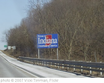 'Welcome to Indiana' photo (c) 2007, Vicki Timman - license: http://creativecommons.org/licenses/by-nd/2.0/