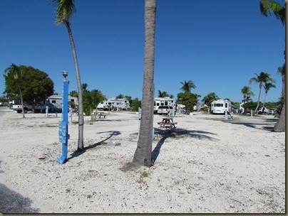 empty site at sunshine key