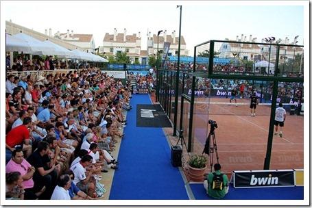 Juan Martín Díaz se queda a las puertas de la final del torneo PPT de Marbella 2012.