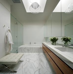 lavabo Baño de lujo piedra calcuta