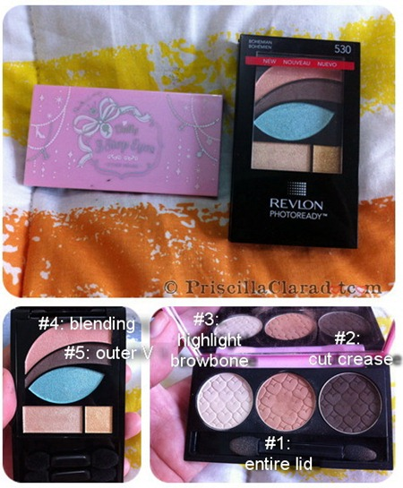 Priscilla makeup look 2ne1 CL Falling in Love 2
