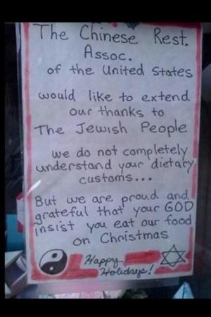 Jewish Christmas Cuisine