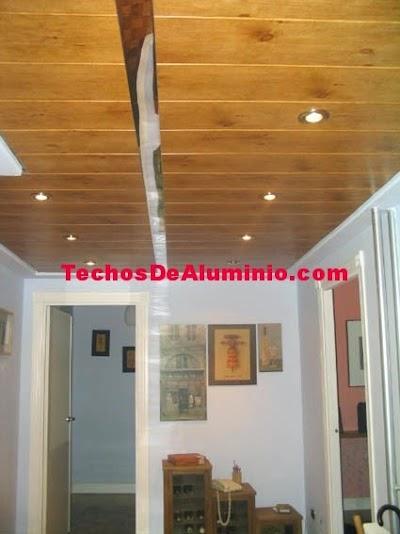 techos de aluminio morado