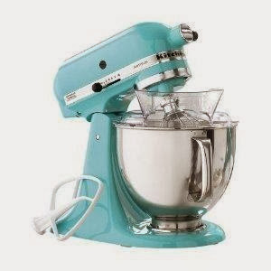 Wonderful KitchenAid Martha Stewart Blue Collection KSM150PSAQ Stand Mixer, Artisan 5  Quart. Tiffany Blue Aqua Sky Color.