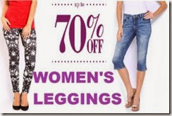 Buy WOMEN LEGGINGS UPTO 70% OFF, Choose From Vero-Moda, Noisy