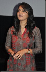 Actress Anushka at Alex Pandian Press Show Stills