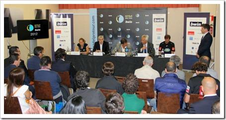 Presentado oficialmente el Circuito Bwin Pádel Pro Tour para esta temporada 2012 prensa