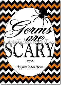 Halloween Teacher Apprecation Gift from mudpiereviews.blogspot.com