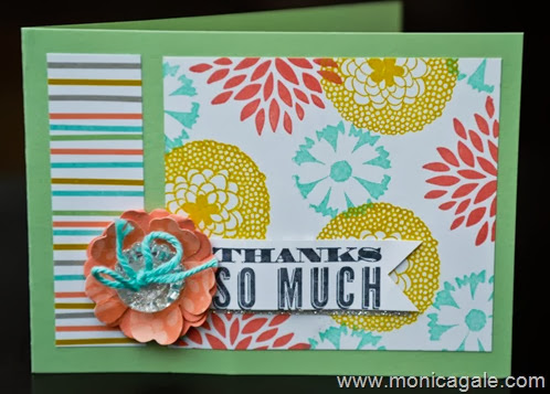 Stampin'Up Petal Parade_