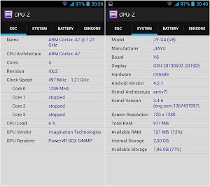 CPU-Z per Android