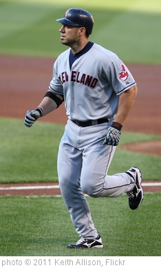 'Cleveland Indians designated hitter Travis Hafner (48)' photo (c) 2011, Keith Allison - license: http://creativecommons.org/licenses/by-sa/2.0/