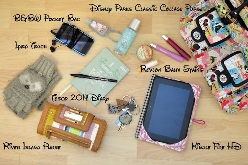 whats in my bag disney beauty blog edit2