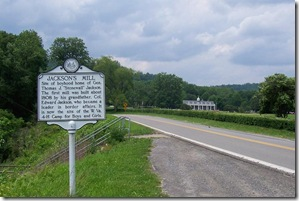 Jackson's Mill marker along Co. Route 10 on Jackson Mill Road