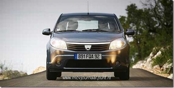 Test Dacia Sandero 1.6 03