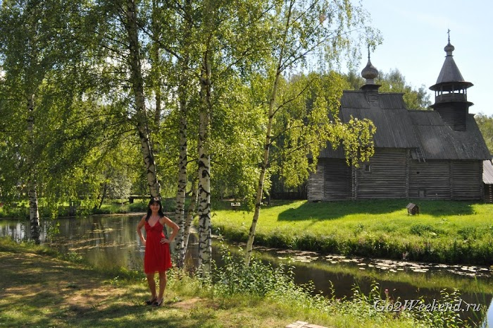 Музей деревянного зодчества - Костромская слобода