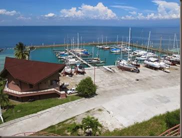 pic of oceanview marina samal island phillippines