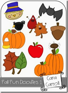 Fall Fun Doodles 1A