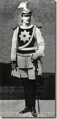 Princi i Vidid me uniformën e truprojës