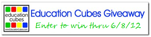 Education Cubes Giveaway