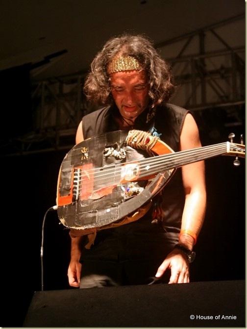 2011 Rainforest World Music Festival - Mehdi Haddab of Duoud finished