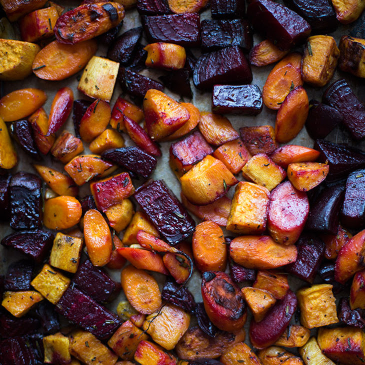 Roasted Root Vegetables Recipe | Yummly