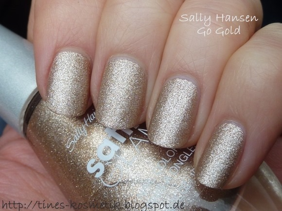 Sally Hansen Go Gold 2