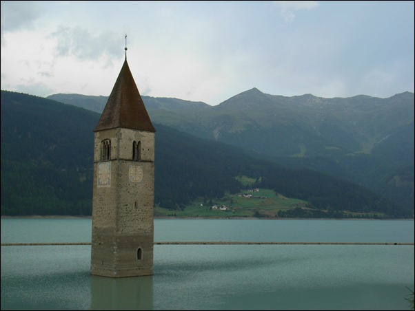Church of Lake Reschen