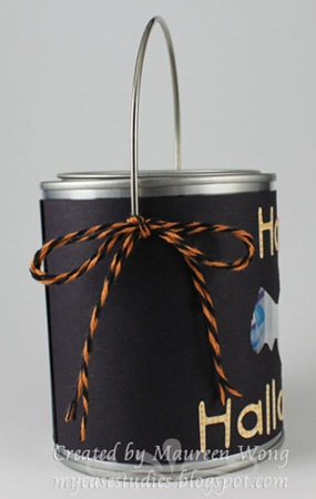 Mini Halloween Candy Pail 1b