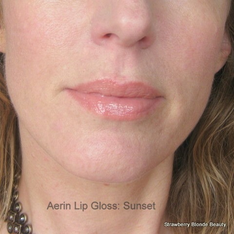 Aerin-Sunset-lip-gloss-swatch-photo-applied-Summer-2013