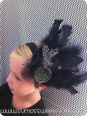 Sumo's Sweet Stuff - Oz Inspired Evanora Headpiece