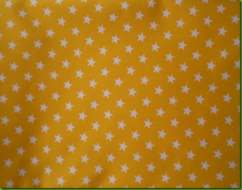 possible border fabric - yellow stars