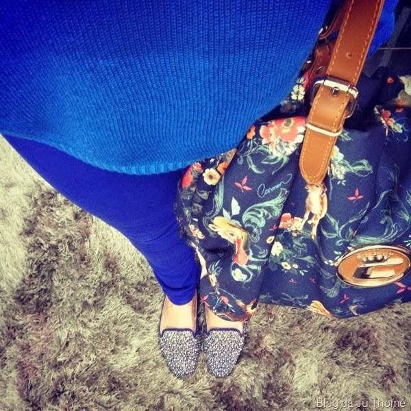 look todo azul, bolsa estampada (1)