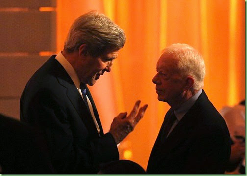 _Secretary_of_State_John_Kerry seeking advice from jimmy carter