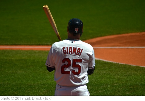 Jason Giambi Home Run Carries Cleveland Indians Past Chicago White Sox