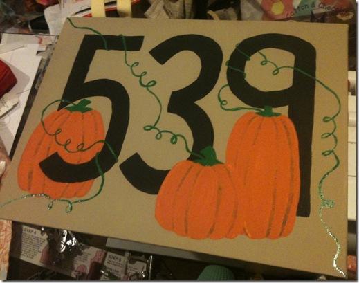 Jenn's Pumpkins