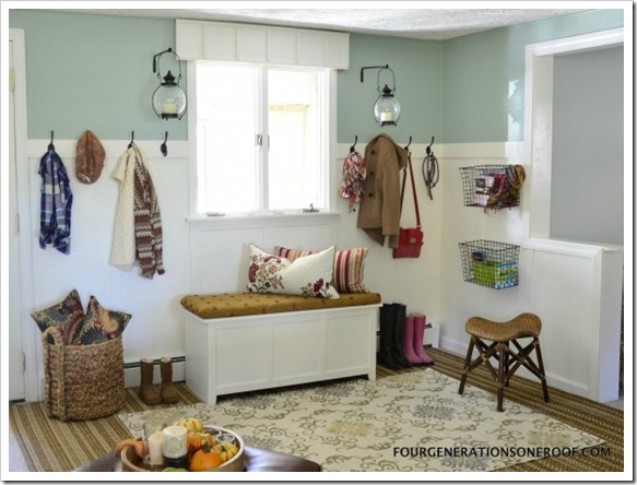 Marvelous mudrooms big small space solutions sand and for Mud room addition ideas