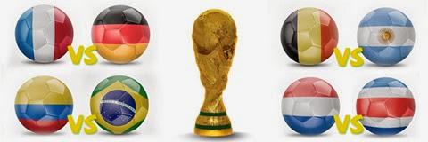Quarter-Finals-fifa-world-cup-2014